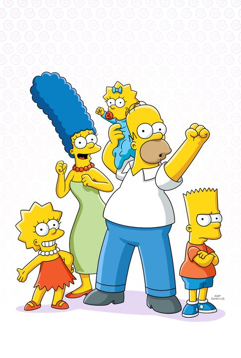 (32. Staffel) - (v.l.n.r.) Lisa; Marge; Maggie; Homer; Bart - Bildquelle: 2020 Twentieth Century Fox Film Corporation.  All rights reserved.