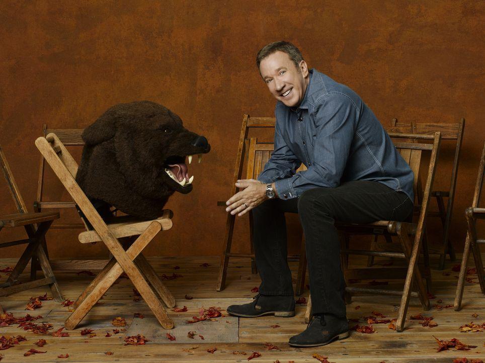 (2. Staffel) - Mike Baxter (Tim Allen) ist ein ganzer Kerl. Zu Hause hat er es allerdings mit vier Frauen zu tun. Da ist Chaos vorprogrammiert. - Bildquelle: 2011 Twentieth Century Fox Film Corporation