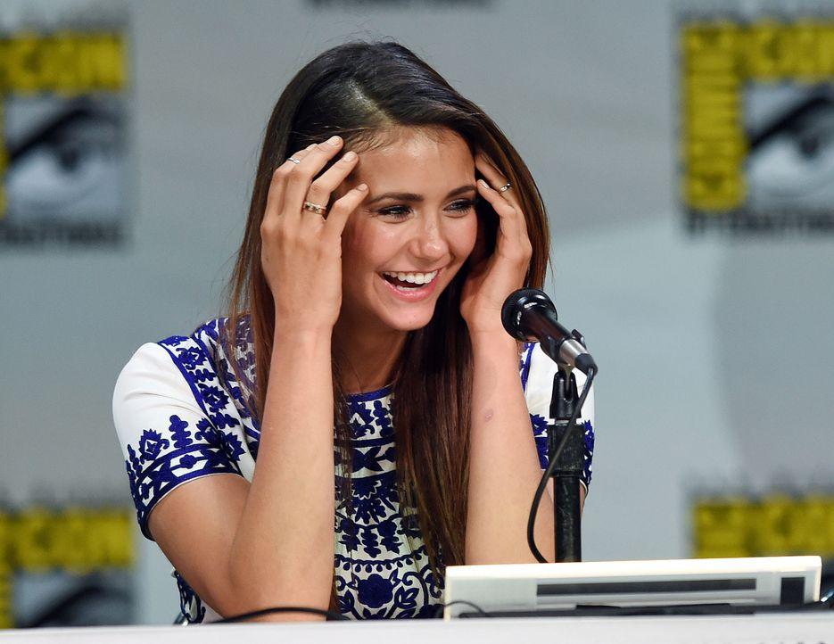 Nina-Dobrev-14-07-26-AFP (2) - Bildquelle: Getty-AFP