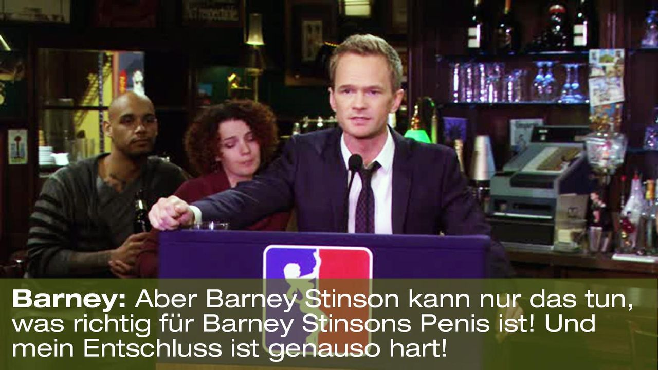 how-i-met-your-mother-zitat-quote-staffel-8-episode-7-stempel-stamp-tramp-6-barney-foxpng 1600 x 900 - Bildquelle: 20th Century Fox