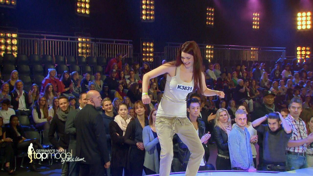 GNTM-10-Sendung01_085 - Bildquelle: ProSieben