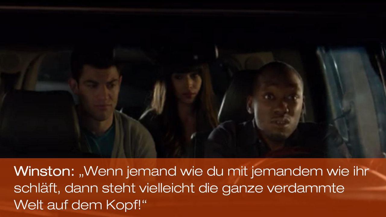 New Girl - Zitate - Staffel 1 Folge 18 - Winston (Lamorne Morris) 1600 x 900 - Bildquelle: 20th Century Fox