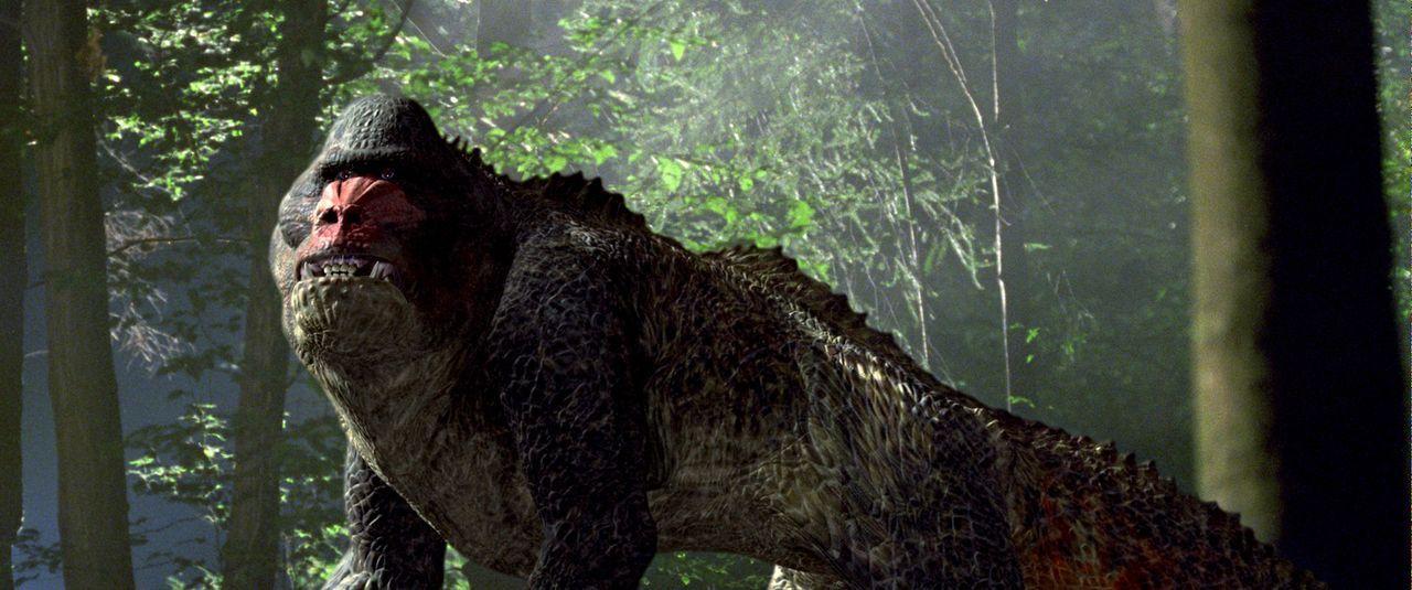 Haben nicht einmal im ausgestorbenen Zustand ihre Ruhe: Im Jahr 2055 sind Dinosaurierjagden in der Vergangenheit der absolute Hit für reiche Jäger... - Bildquelle: ApolloMedia