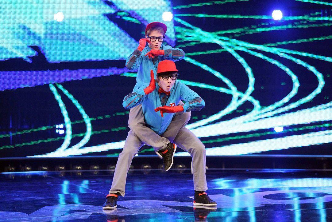 Got-To-Dance-Ricardo-und-Janik-03-SAT1-ProSieben-Guido-Engels - Bildquelle: SAT.1/ProSieben/Guido Engels