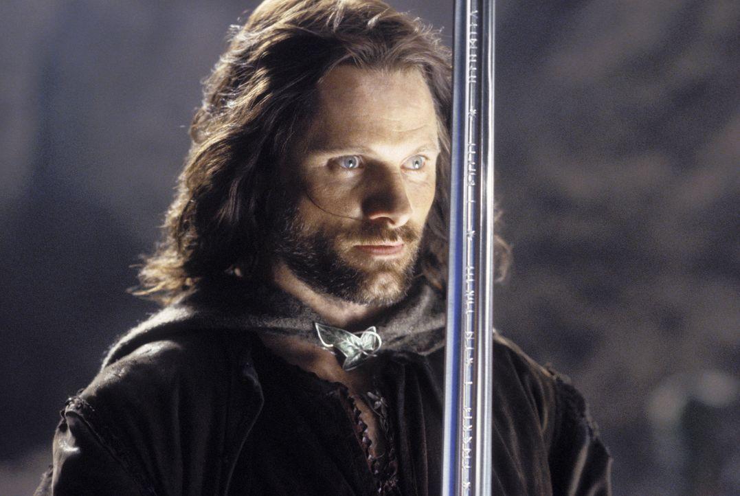Über das einst mächtige Reich wacht ein mutloser Verwalter. Aragorn (Viggo Mortensen) ist der einzige, der sein Volk noch vor Sauron retten kann ... - Bildquelle: Warner Bros.
