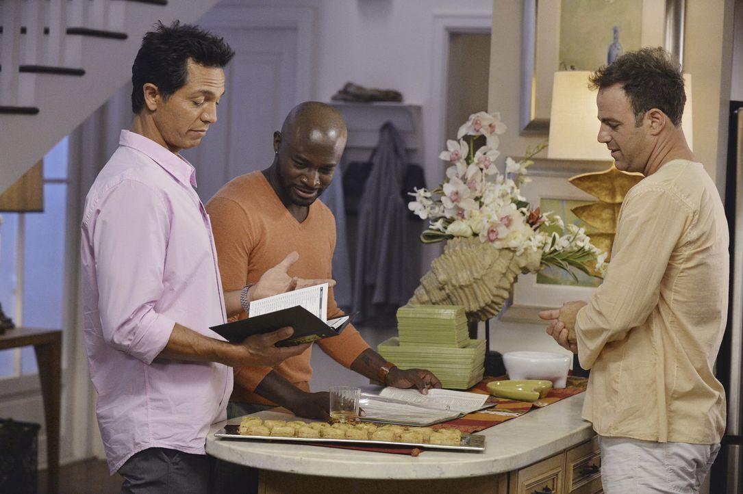 Wollen Petes letzten Wunsch erfüllen und anstatt zu trauern, feiern sie sein Leben: Jack (Benjamin Bratt, l.), Cooper (Paul Adelstein, r.) und  Sam... - Bildquelle: ABC Studios