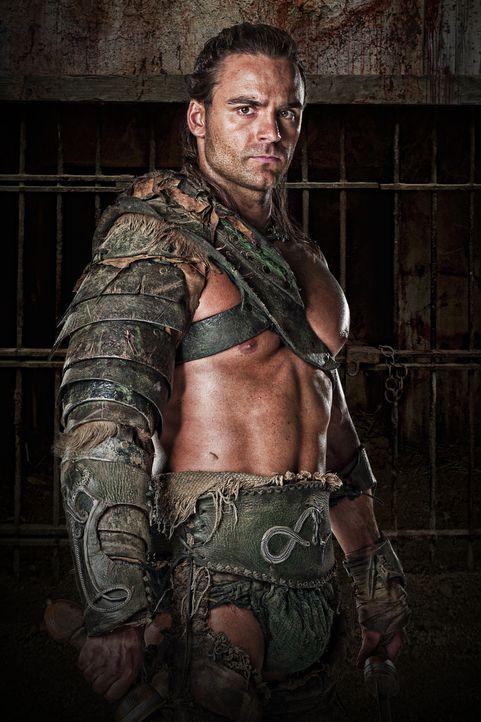 Furchtlos in der Arena und besessen von den flüchtigen Freuden des Lebens: Gladiator Gannicus (Dustin Clare) ... - Bildquelle: 2010 Starz Entertainment, LLC