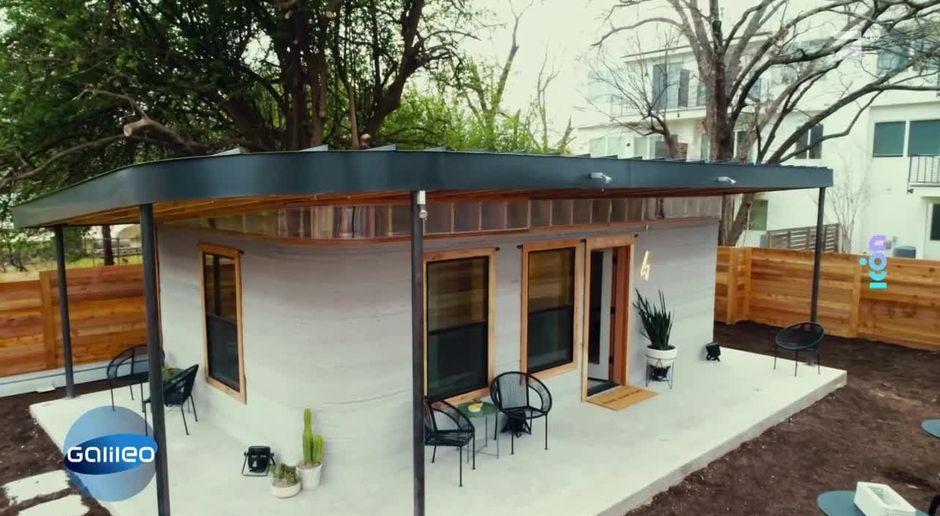 Ein Haus Aus Dem 3d Drucker