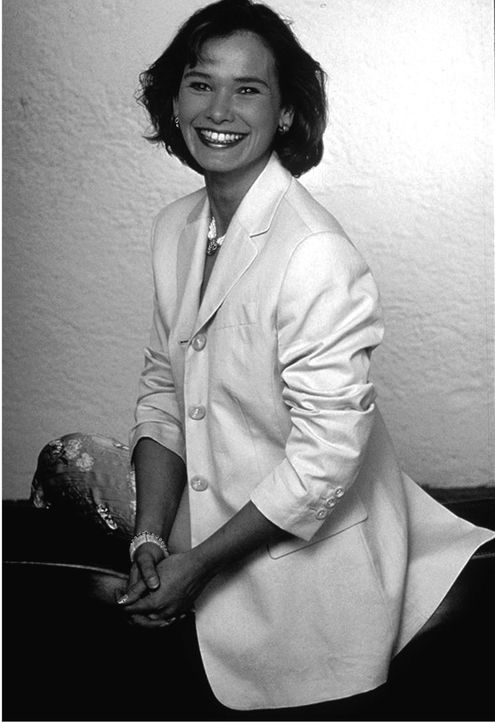 taff-Moderatorin Sabine Noethen (1995 bis 1997) - Bildquelle: dpa/
