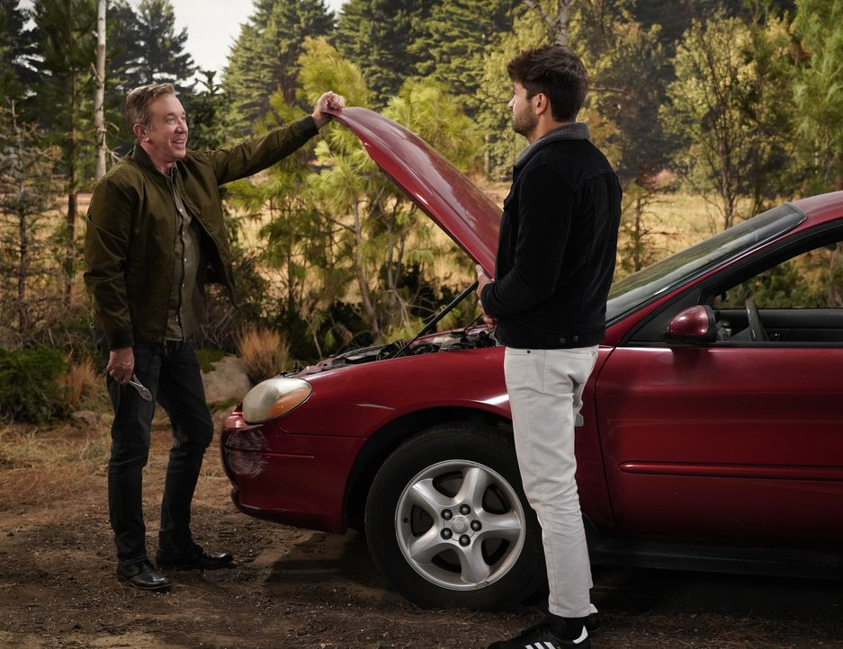 Mike Baxter (Tim Allen, l.); Ryan Vogelson (Jordan Masterson, r.) - Bildquelle: 2018-2019 Twentieth Century Fox Film Corporation.  All rights reserved