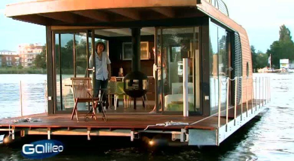 Extrem Galileo - Video - Luxus-Hausboot - ProSieben JC99