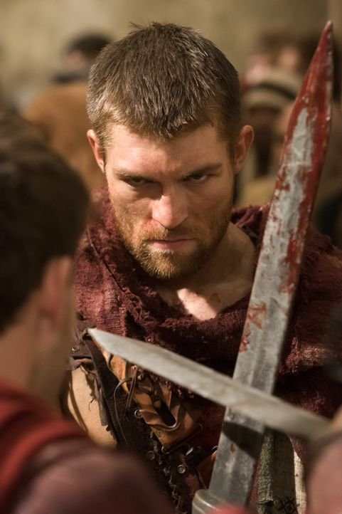 Sucht die direkte Konfrontation mit Glaber: Spartacus (Liam McIntyre) ... - Bildquelle: 2011 Starz Entertainment, LLC. All rights reserved.