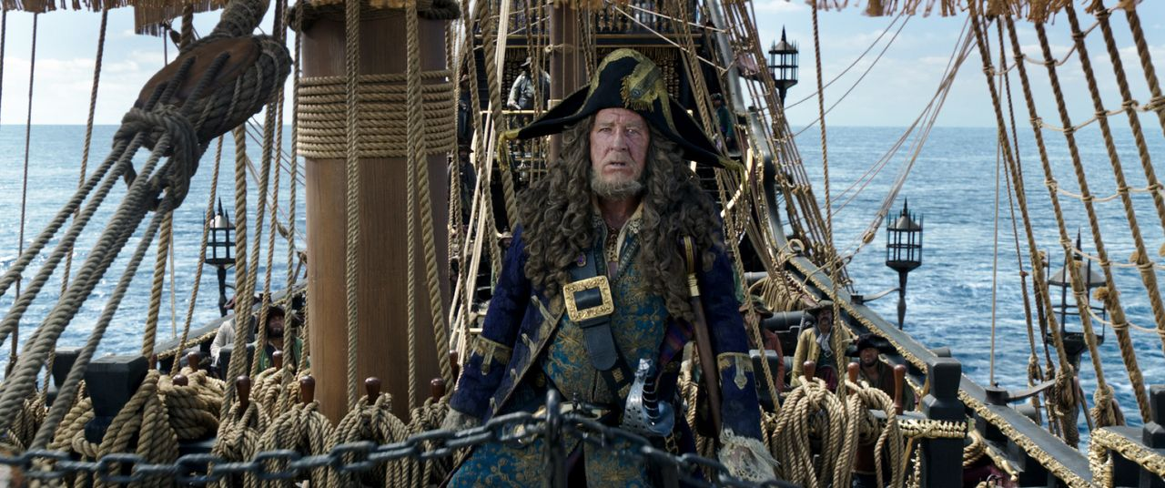 Captain Hector Barbossa (Geoffrey Rush) - Bildquelle: Disney Enterprises, Inc. All Rights Reserved.