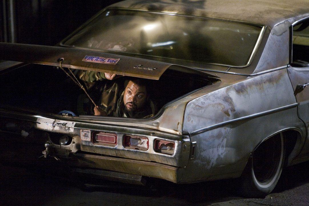 Um sich vor der Polizei zu verstecken, klettert Durell (Ice Cube) in einen Kofferraum. Da er und sein Kumpel LeeJohn oft etwas ausfressen, ist ihnen... - Bildquelle: 2007 Screen Gems, Inc. All Rights Reserved.