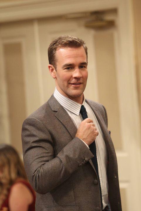 Wird Will (James Van Der Beek) einen Fehler an zwei Abenden machen? - Bildquelle: 2013 CBS Broadcasting, Inc. All Rights Reserved.