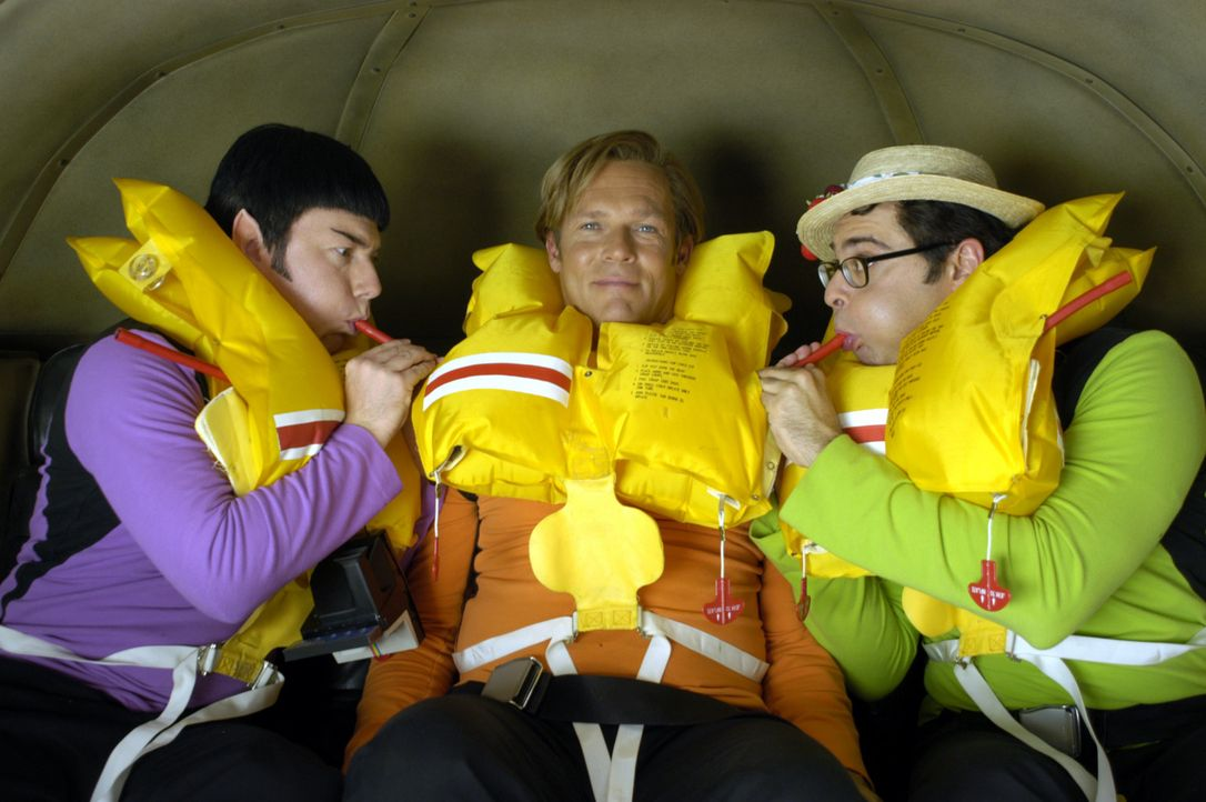 Der Taxi-Pilot Rock ist zwar ein wortkarger Space-Haudegen mit grenzwertigen Manieren und uraltem Gefährt - aber das Auge reist schließlich mit: K... - Bildquelle: herbX film / JAT Jürgen Olczyk
