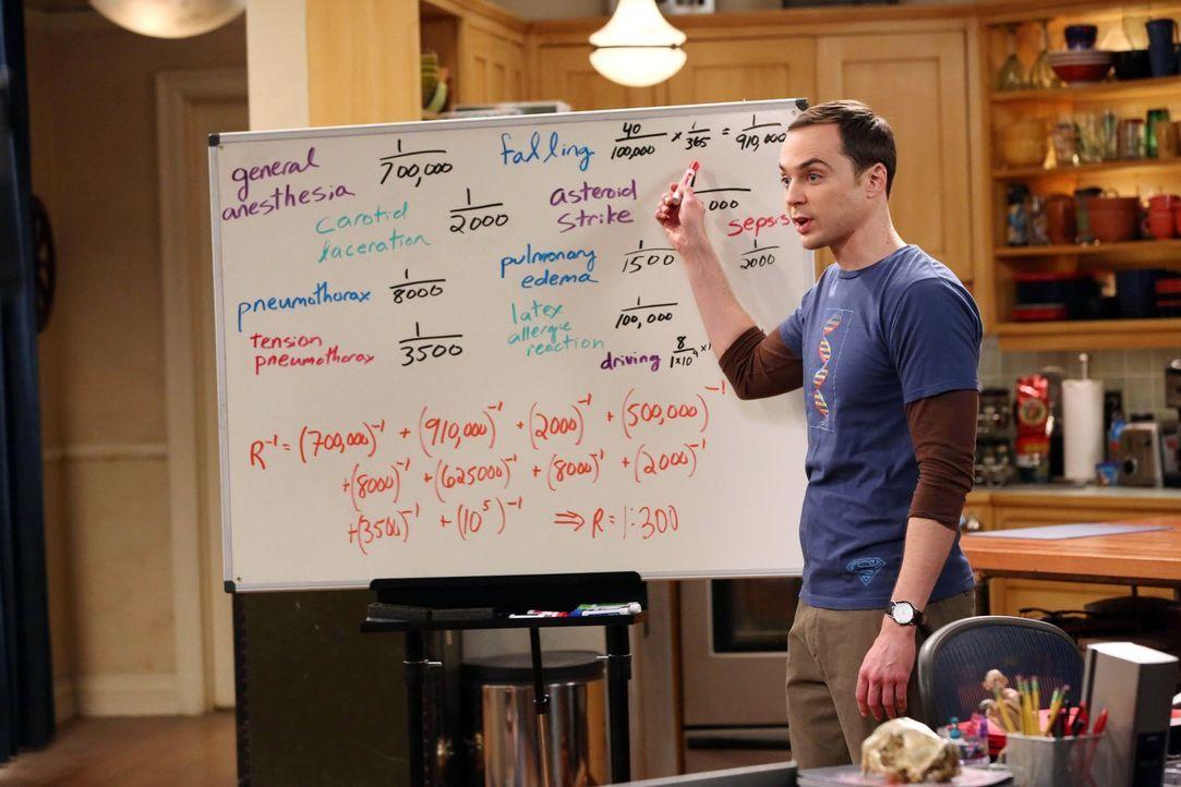 Als Sheldon (Jim Parsons) erfährt, dass sich Leonard auf Anraten seines Arztes die Verkrümmung seiner Nasenscheidewand operativ korrigieren lassen w... - Bildquelle: Warner Bros. Television