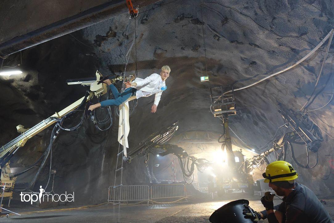 SNTM2019_Stollen_Shooting_Siggi (12) - Bildquelle: ProSieben Schweiz/ Siegfried Boyé