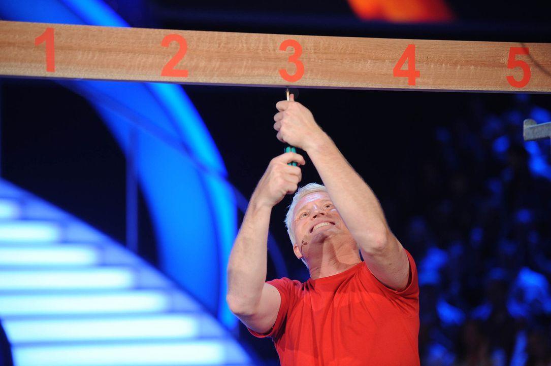 Ob der Moderator Guido Cantz auch noch Spaß versteht, wenn es für ihn um Ruhm und Ehre geht? - Bildquelle: ProSieben
