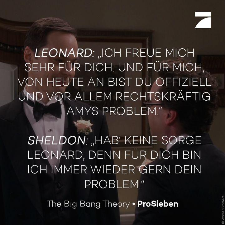 Staffel 11 Episode 21 - Leonard und Sheldon - Bildquelle: Warner Bros. Television