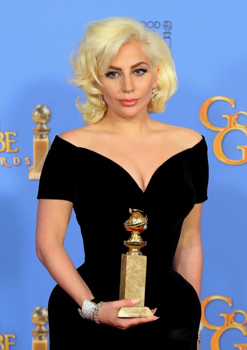GG-Gewinner-160110-Gaga2-getty-AFP - Bildquelle: getty-AFP