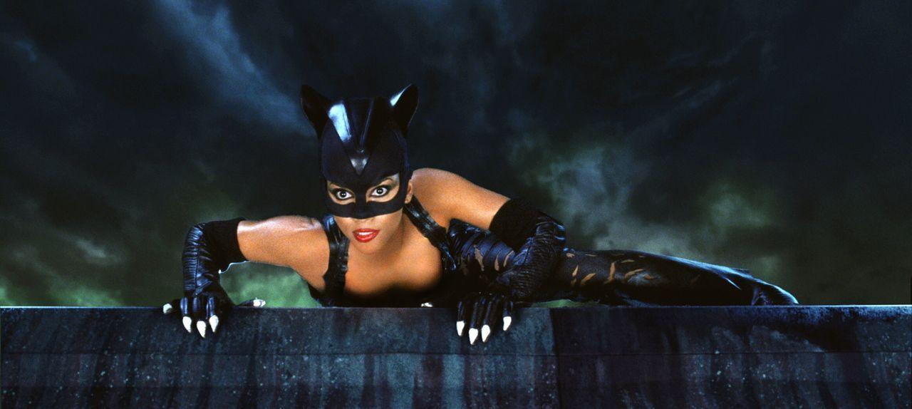 Aus dem Reich der Toten zurückgekehrt, macht sich Patience Price (Halle Berry) als Catwoman auf die Suche nach ihrem Mörder ... - Bildquelle: Warner Bros. Television