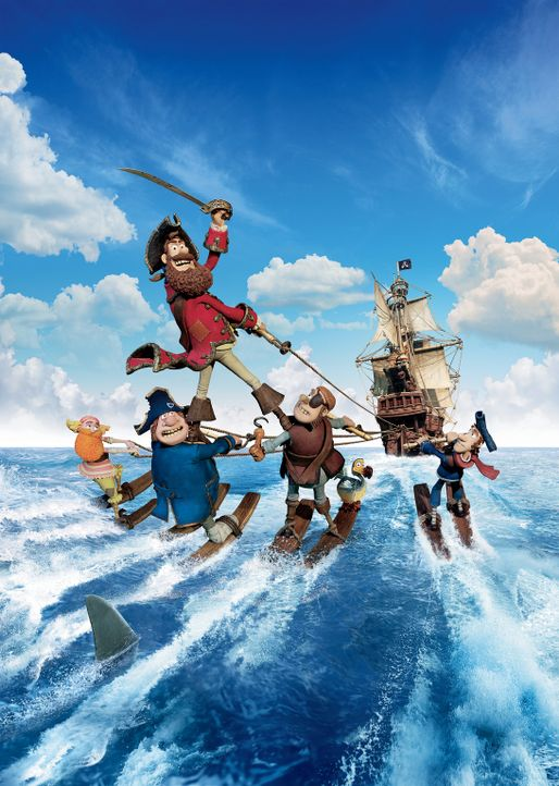 Die Piraten - ein Haufen merkwürdiger Typen - Artwork - Bildquelle: 2012 Sony Pictures Animation Inc. All Rights Reserved.