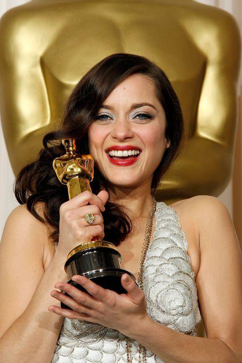 Beste-Hauptdarstellerin-2008-Marion-Cotillard-AFP - Bildquelle: getty-AFP