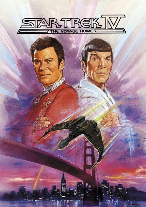 Star Trek IV - Zurück in die Gegenwart - Plakatmotiv - Bildquelle: Paramount Pictures
