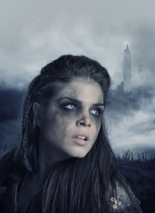 (3. Staffel) - Octavia (Marie Averopoulos) ist sich sicher, dass sie nur bei den Sky-People bleiben will, wenn diese endlich Frieden mit den Grounde... - Bildquelle: 2014 Warner Brothers