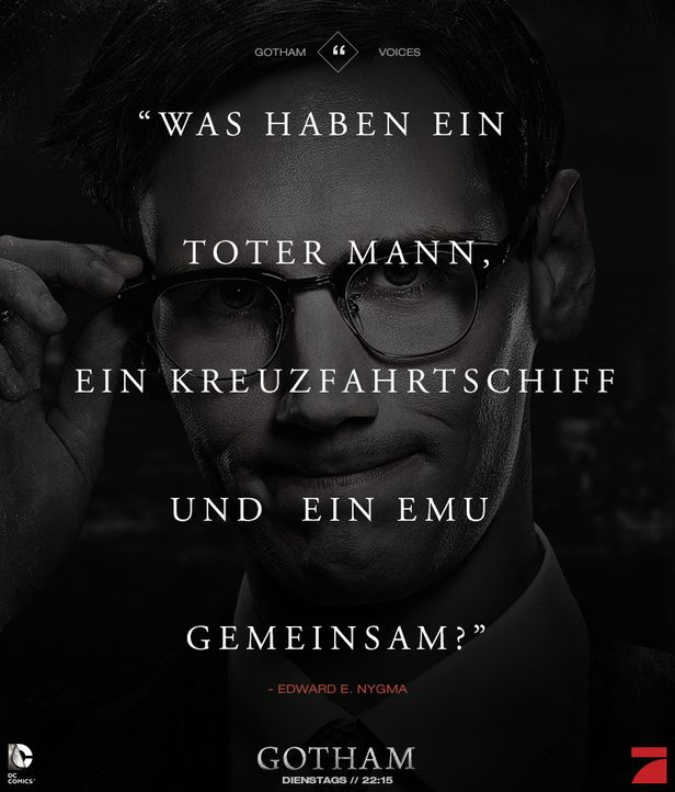 Gotham_Voices_Stimmen_der_Stadt_Zitate_Sprueche_Serie (33) - Bildquelle: DC Comics / Warner Bros. Entertainment, Inc.