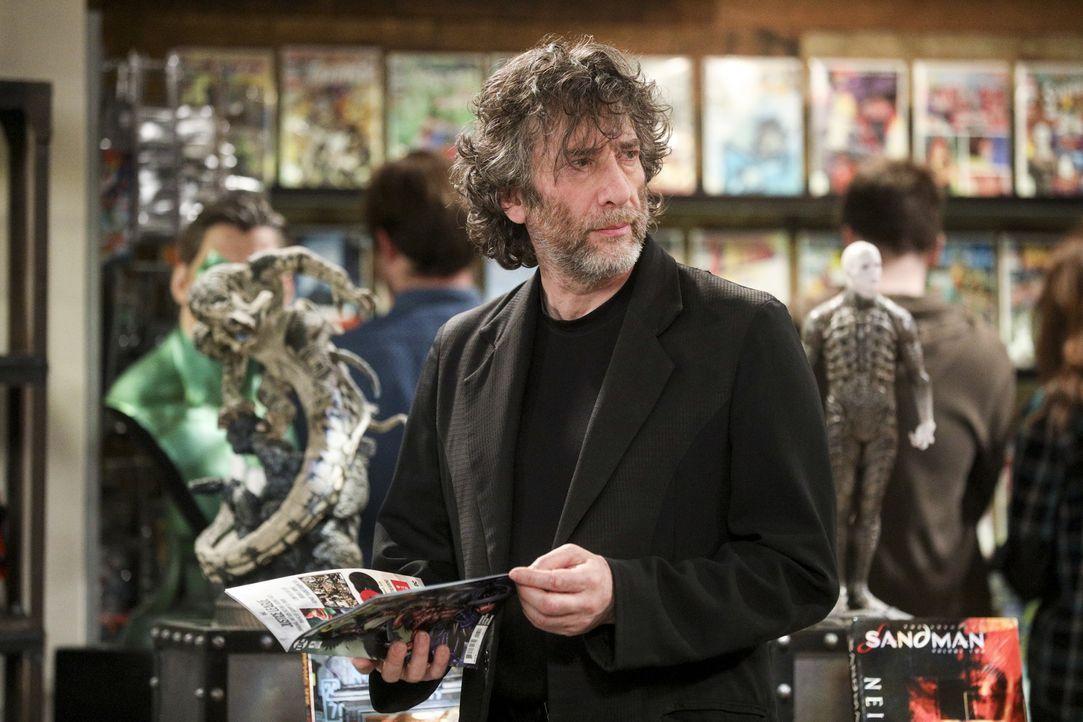 Als der Autor Neil Gaiman (Neil Gaiman) Stuarts Comicladen eine gute Bewertung gibt, sorgt das für einige Veränderungen ... - Bildquelle: Warner Bros. Television