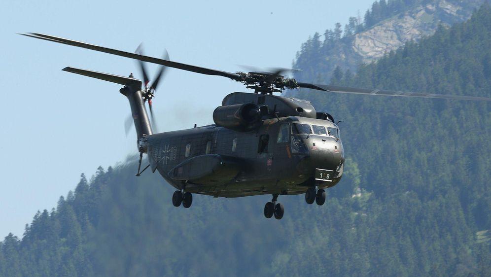 Helikopter Unfall