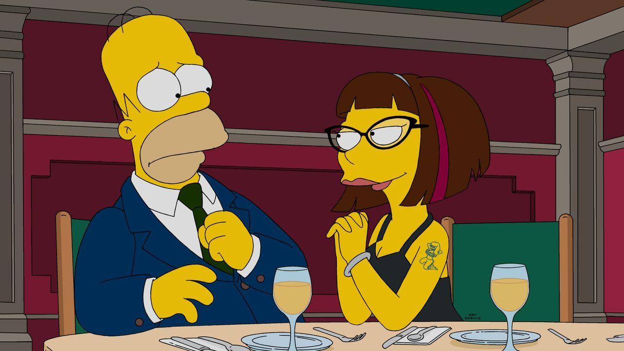 Wahr oder nur ein Traum? Homer (l.) und Candace (r.) ... - Bildquelle: 2015 Fox and its related entities.  All rights reserved.