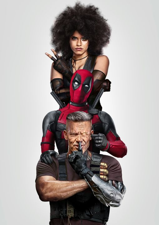 Deadpool 2 - Artwork - Bildquelle: 2018 Twentieth Century Fox Film Corporation. All rights reserved. MARVEL © 2018 MARVEL