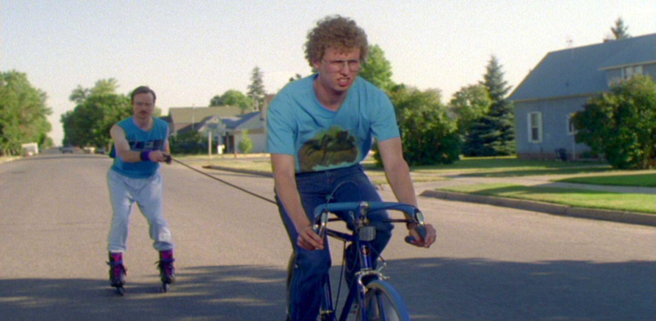 Führen ein Leben als Außenseiter: Napoleon (Jon Heder, r.) und sein Bruder Kip (Aaron Ruell, l.) ... - Bildquelle: TM & © 2006 Paramount Pictures. All Rights Reserved.