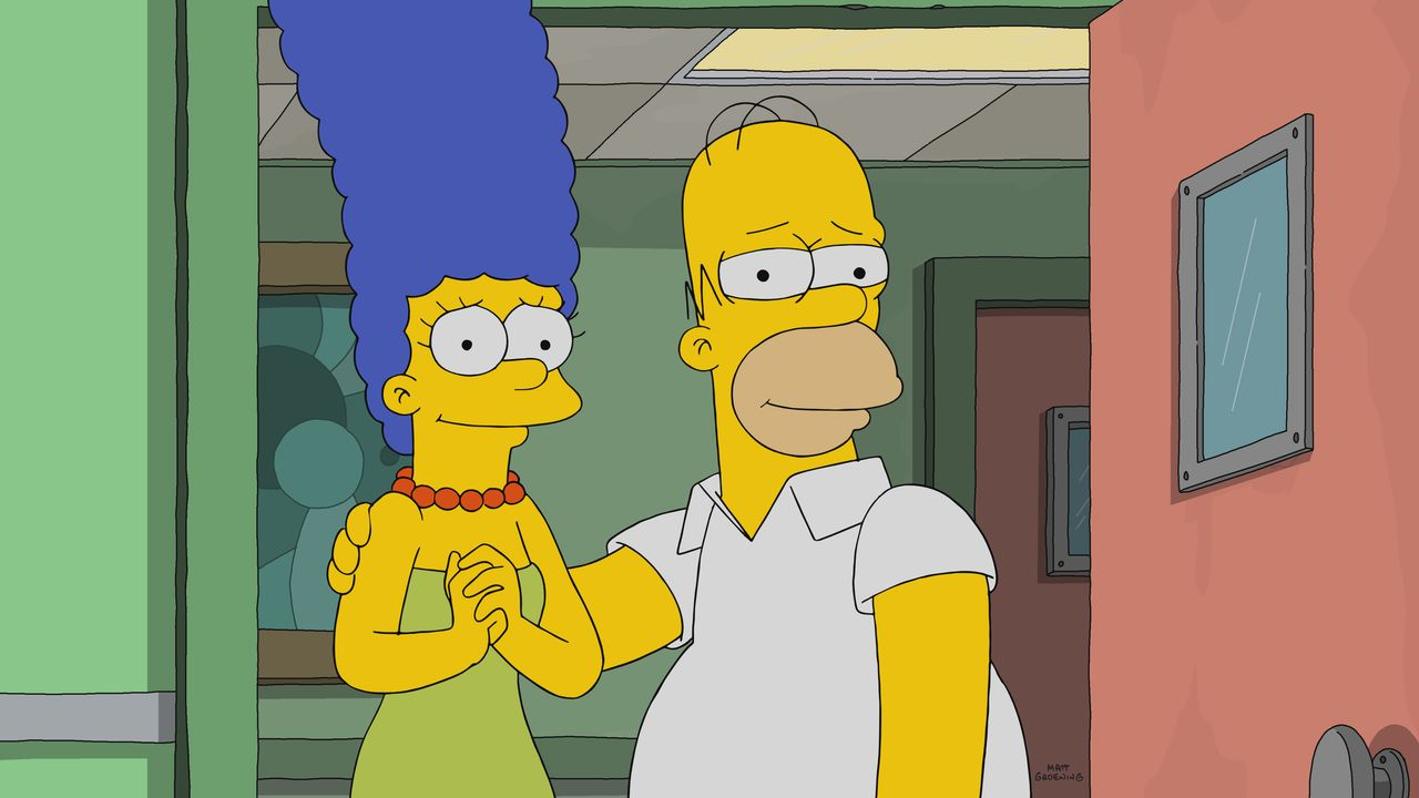 Marge (l.); Homer (r.) - Bildquelle: 2017-2018 Fox and its related entities.  All rights reserved.