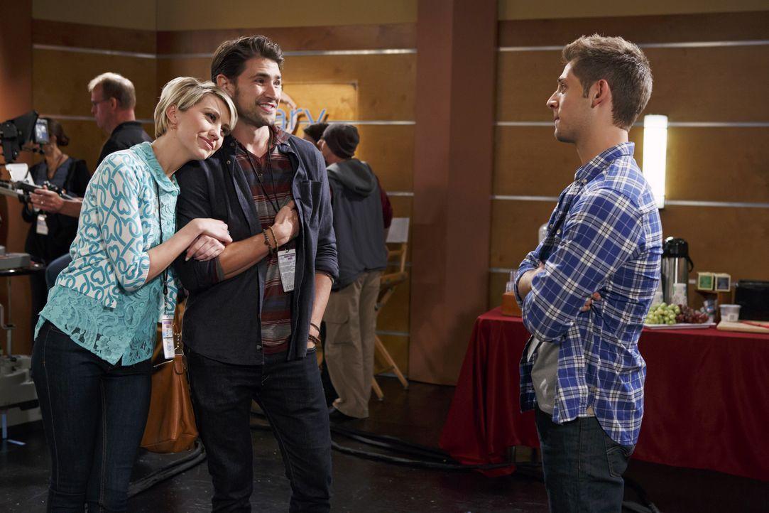 (v.l.n.r.) Riley (Chelsea Kane); Fitch (Matt Dallas); Ben (Jean-Luc Bilodeau) - Bildquelle: Bruce Birmelin ABC Family