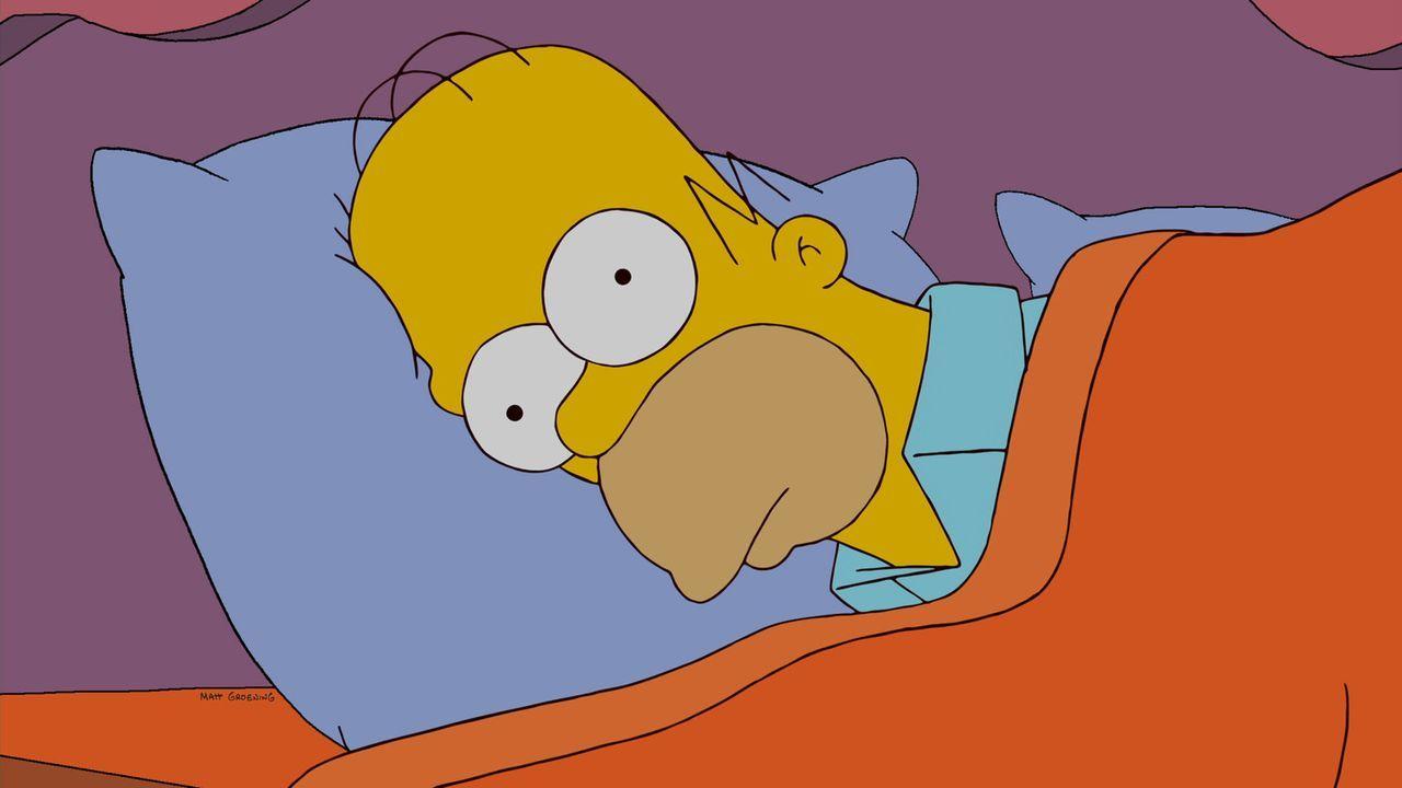 Hat ein nasses Problem: Homer Simpson ... - Bildquelle: und TM Twentieth Century Fox Film Corporation - Alle Rechte vorbehalten