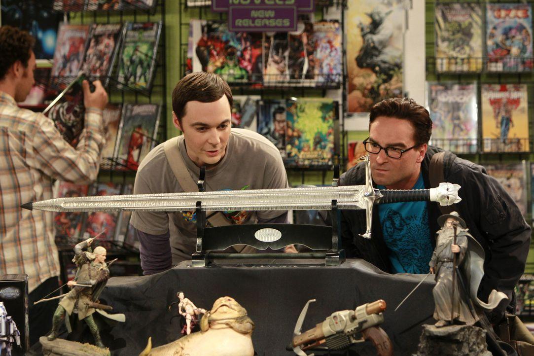 Sheldon Cooper (Jim Parsons, l.); Leonard Hofstadter (Johnny Galecki, r.) - Bildquelle: Monty Brinton 2011 CBS Broadcasting, Inc. All Rights Reserved. / Monty Brinton