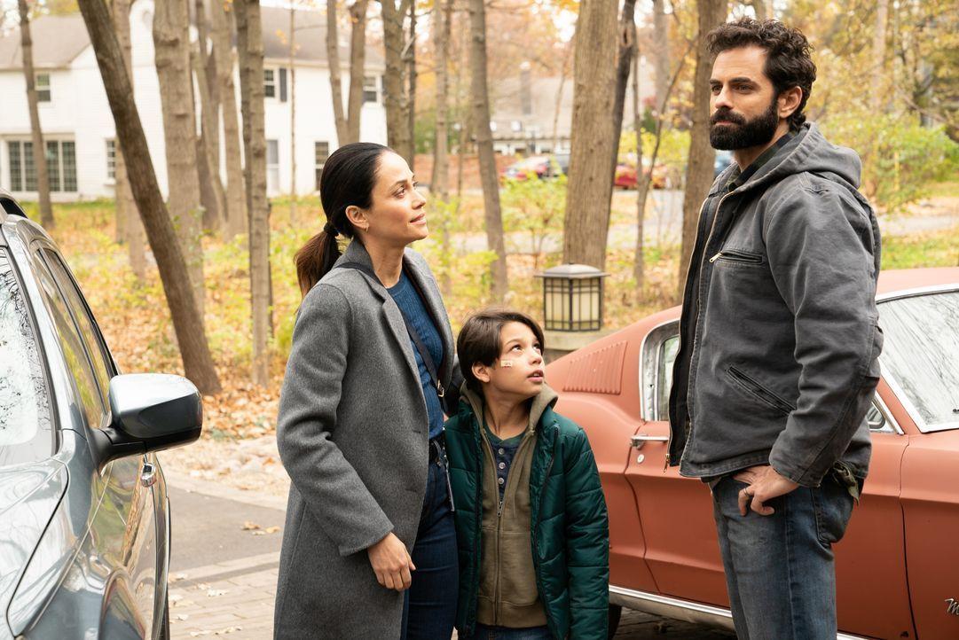 (v.l.n.r.) Shea Salazar (Fernanda Andrade); Ethan Salazar (Evan Whitten); Ty Salazar (Gerardo Celasco) - Bildquelle: 2019-2020 Twentieth Century Fox Film Corporation.  All rights reserved