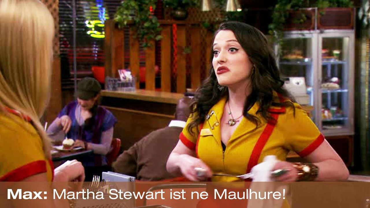 2-broke-girls-zitat-staffel2-episode2-glueckskette-max-maulhure-warnerpng 1600 x 900 - Bildquelle: Warner Brothers Entertainment Inc.