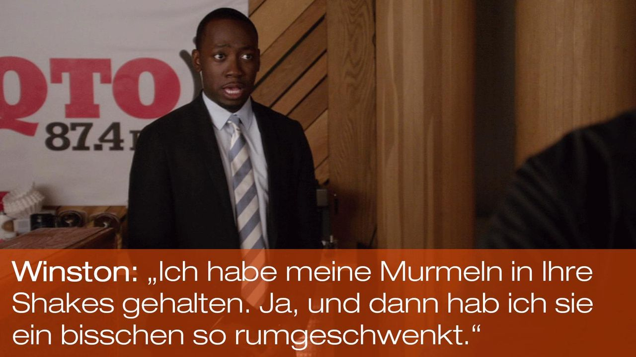 New Girl - Zitate - Staffel 1 Folge 20 - Winston (Lamorne Morris) 1600 x 900 - Bildquelle: 20th Century Fox