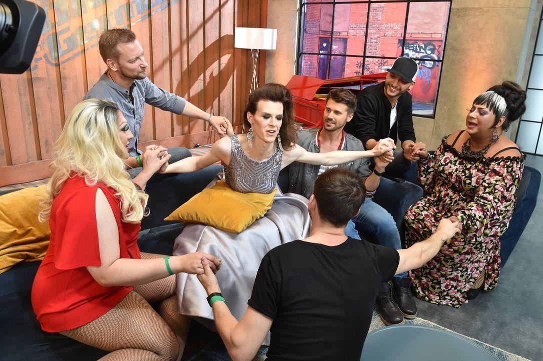 Ep1_Jade_Backstage - Bildquelle: SAT.1 / ProSieben / Andre Kowalski