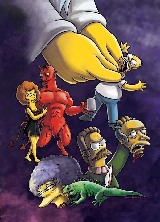 """""""TREEHOUSE OF HORROR XXII"""" - Gruselige Geschichten mit den Simpsons ... - Bildquelle: und TM Twentieth Century Fox Film Corporation - Alle Rechte vorbehalten"""