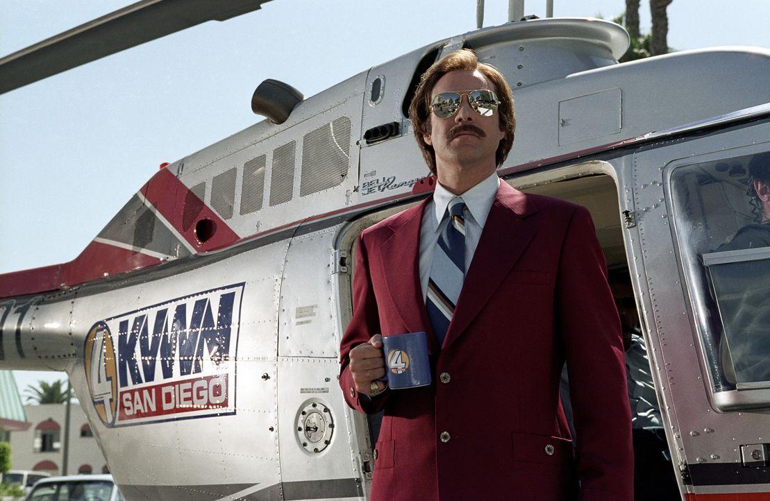 Ron Burgundy (Will Ferrell) ist der populärsten Nachrichtensprecher im San Diego der 70er Jahre. Doch dann hält der Feminismus Einzug in sein Stud... - Bildquelle: Frank Masi DreamWorks