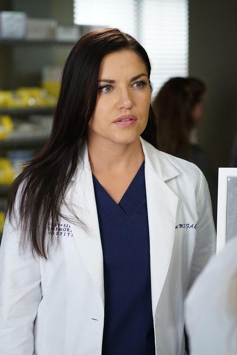 Während Jo eine schwierige Entscheidung treffen muss, versucht Arizona sich im Krankenhaus von Eliza (Marika Dominczyk) fernzuhalten ... - Bildquelle: Eric McCandless 2016 American Broadcasting Companies, Inc. All rights reserved.