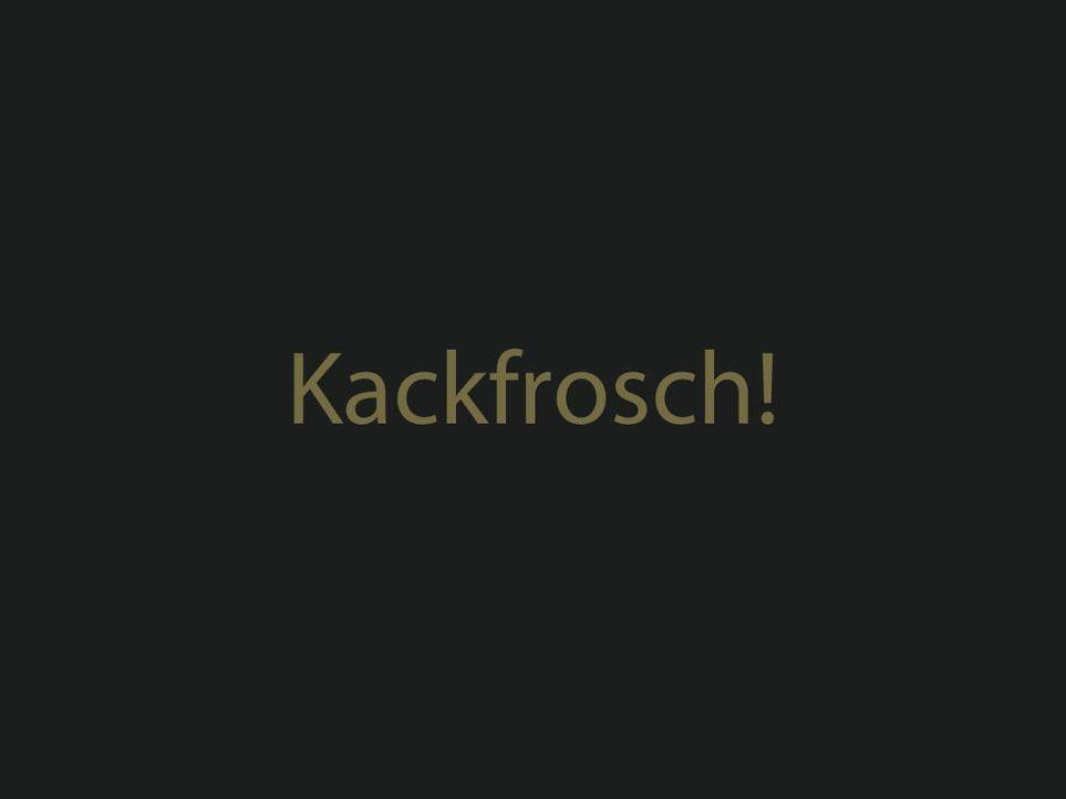 kackfroschjpg 1024 x 768 - Bildquelle: ProSieben