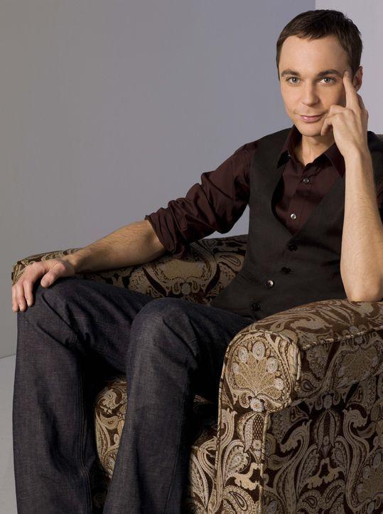 (2. Staffel) - Führt ein ziemlich schräges Leben: Sheldon (Jim Parsons) ... - Bildquelle: Warner Bros. Television