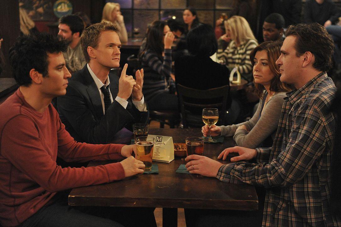 Barney (Neil Patrick Harris, 2.v.l.) stellt sich einer eigener neuer Herausforderung - Bildquelle: 20th Century Fox International Television